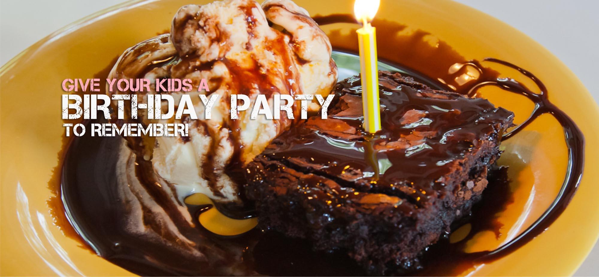 Bloomington Deserts - Birthday Party