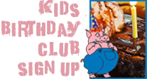 Bloomington BBQ Restaurant - Kids Birthday Club Signup