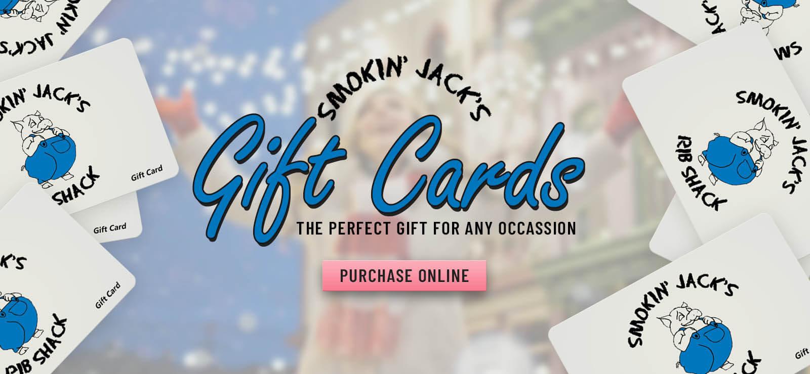 Smokin' Jack's Rib Shack - Gift Cards